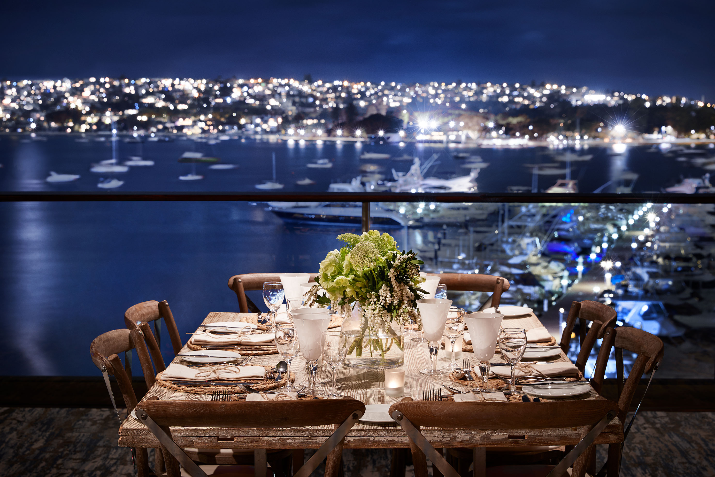 TWO LUXURY SYDNEY WATERFRONT VENUES