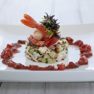 Prawn and Crab Salad